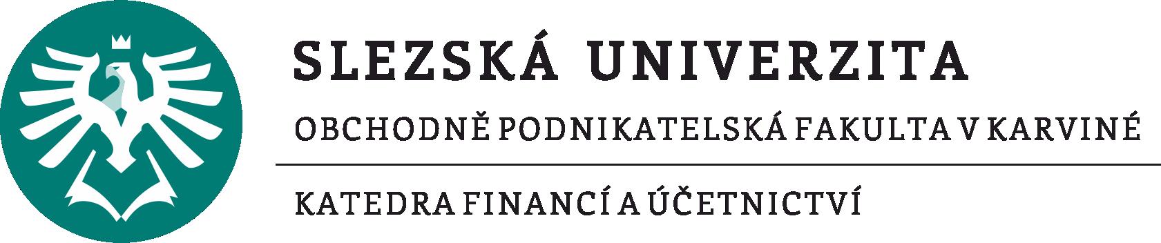 Katedra financí a účetnictví OPF SU Karviná